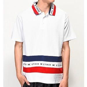 Ethik Club White Polo Casual Shirt
